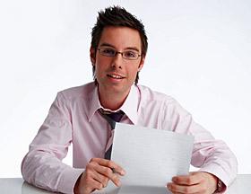 Beratung bei Kreditvertrag